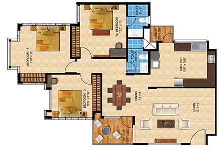 Nandi Citadel - 2 & 3 Bedroom Apartments | Bannerghatta Road