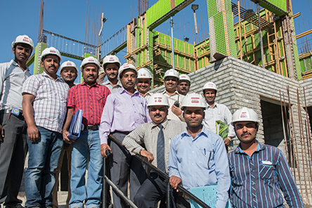 Nandi Housing construction in-house-team
